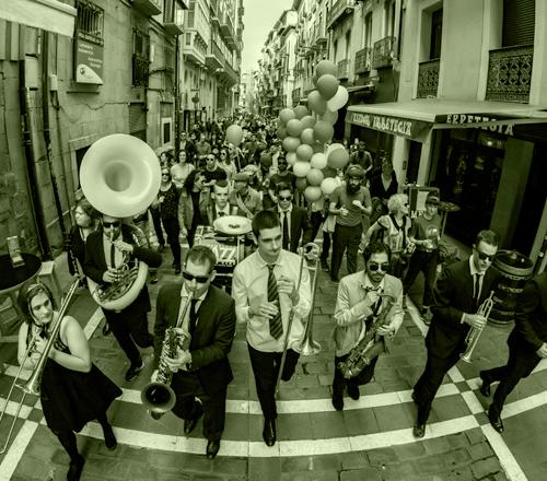 Iruña jazz brass band